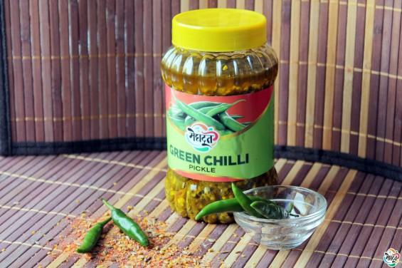 green chilli pickle 2